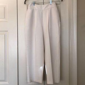 Zara white trouser